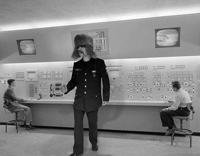 working on some new John Starlight tracks when he was commanding a power plant in the 60s