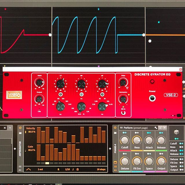 Vertigo Sound VSE-2 Gyrator EQ plugin
