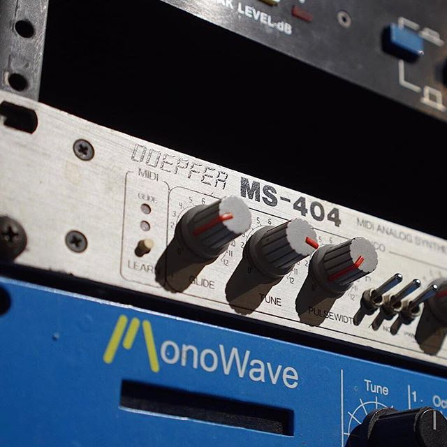 You are Old-school .... if you have feelings about a Doepfer MS-404